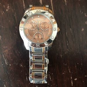 Women's Relic Watch Silver and Rose Gold